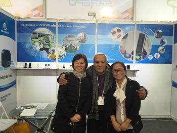 We attend Cebit exhibition in Germany on March 2016.